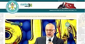 Manisa Büyükşehir Web TV yayına başladı