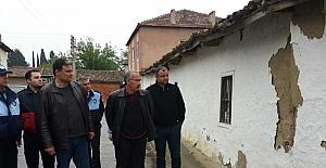 Manisa Büyükşehir'den deprem sonrası Saruhanlı'da hasar tespiti