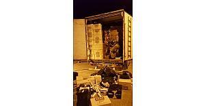 Mardin'de 58 bin 500 paket kaçak sigara ele geçirildi