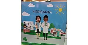 Medicana Sivas Hastanesi 23 Nisan'da çocukları unutmadı
