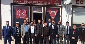 MHP İlçe Başkanları göreve başladı