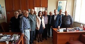 Milletvekili Hürriyet, STK'ları ziyaret etti