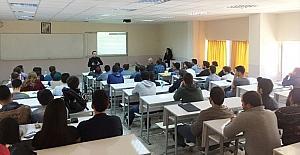 MMO'dan Hitit Üniversitesinde meslek tanıtımı