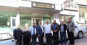 Muhtarlar Belediye Başkanı Uysal'a teşekkür etti