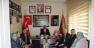 Mumcu'dan Türkiye Harp Malulü Gaziler Şehit Dul ve Yetimleri Derneği ziyareti