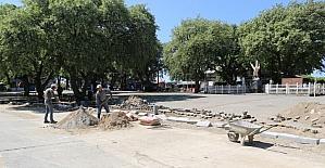 Ören Meydanına otopark yapılıyor