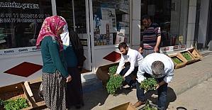 Organik tarım ürünleri vatandaşlardan yoğun talep görüyor