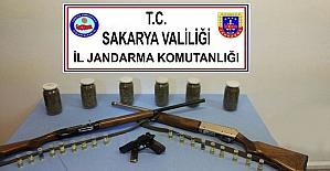 Sakarya'da bin 530 gram esrar ele geçirildi