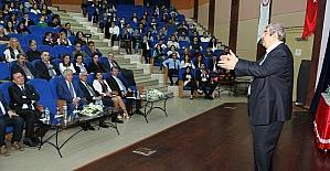 SANKO Onursal Başkmanı Abdulkadir Konukoğlu Isparta'da