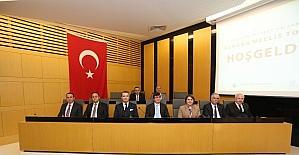 SATSO Nisan ayı olağan meclis toplantısı gerçekleştirildi