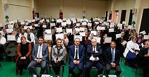 Şehitkamil'de 187 kişi daha okur-yazar oldu