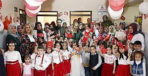 Şehitkamilli Minik Öğrencilerin 23 Nisan Coşkusu