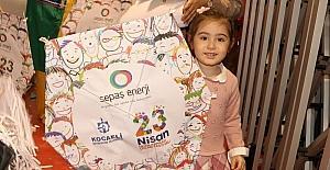 Sepaş Enerji'nin uçurtma hediyesi, çocukları sevindirdi