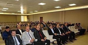 Sivas'ta Genç Çiftçi Projesi bilgilendirme toplantısı yapıldı