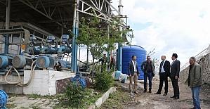 Soma'nın içme suyu tesislerine yakın takip