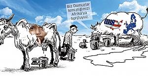 Sömürgeci Batı'ya Afrika isyanı
