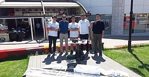 TBMYO Öğrencileri ROBOTRAK robot yarışmasından ödülle döndü