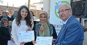 TEMEK 'Elde Kurdele İşi Kursu Yıl Sonu Kapanış Sergisi'