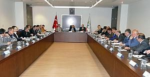 TİSKİ Genel Müdürlüğü'nün çalışmaları masaya yatırıldı