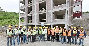 Trabzon'da 209 kişiye uygulamalı ve teorik mesleki yeterlilik sınavı yapıldı