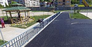 Trafik eğitim parkında sona doğru