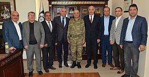 Tümgeneral Özoğlu'dan, ETSO'ya iade-i ziyaret