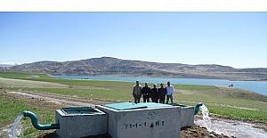Tunceli'de 16 bin 370 dekar tarım arazisi sulamaya açıldı