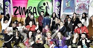 Türkiye Zumba Team heyecanı Adana'da