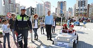 Türkiye'nin en kapsamlı Trafik Eğitim Parkı Mersin'de hizmete girdi