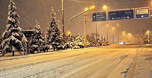 Uşak'a Meteorolojiden kar yağışı uyarısı