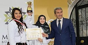 Yemek yarışmasına katılanlara ödül verildi