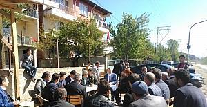 Yeşilova Köyünde halk toplantısı düzenlendi