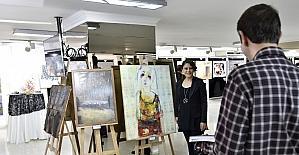 17. Şefik Bursalı Resim Yarışması sergisi Ankara'da açıldı