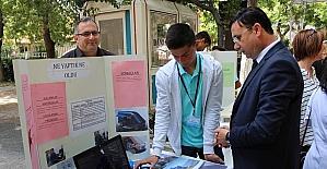 AFAD İl Müdürü Yılmaz, TUBİTAK 4006 Bilim Fuarı'nın Açılış Törenine Katıldı