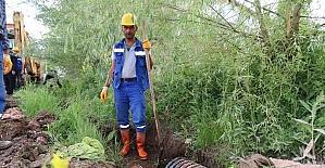 Aksaray'da kanal kapama çalışmaları başladı