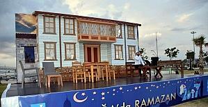 Aliağa'da ilk iftar yapıldı