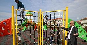 Altınordu'da parklar izleniyor