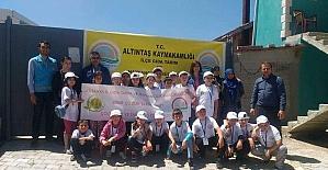Altıntaş'ta Lider Çocuk Tarım kampı