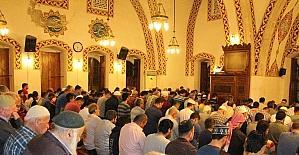 Anadolu'nun ilk camisinde teravih namazı kılındı