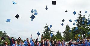 Bafra MYO'da mezuniyet coşkusu