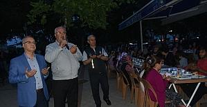 Başkan Kayda, ilk iftarını vatandaşlarla birlikte açtı