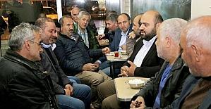 Başkan Orhan'dan teravih buluşmaları