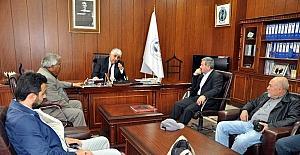 Başkan Şimşek, belediye çalışmaları hakkında bilgi verdi
