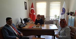 Başkan Yalçıl'dan KYK Müdiresi Leblecioğlu'nu ziyaret