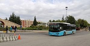 Belediye otobüs saatlerinde değişiklik yapıldı