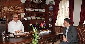 Bilim Sanayi ve Teknoloji Müdürü Duran, Ünver'i ziyaret etti