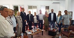 Bodrum heyeti Turgut Reis'in yaşadığı topraklarda