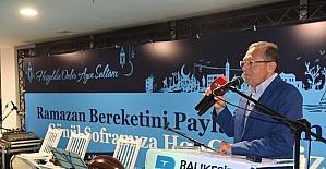 Büyükşehir Belediyesi'nden BASKİ çalışanlarına iftar