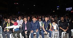 Çerkezköy'de şampiyonluk coşkusu