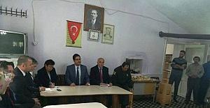 Daday'da Halk Toplantısı yapıldı